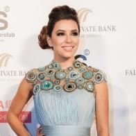Eva Longoria en la alfombra roja. Global Gift Gala Dubai 2013