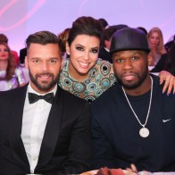 Ricky Martin, Eva Longoria, 50 Cent