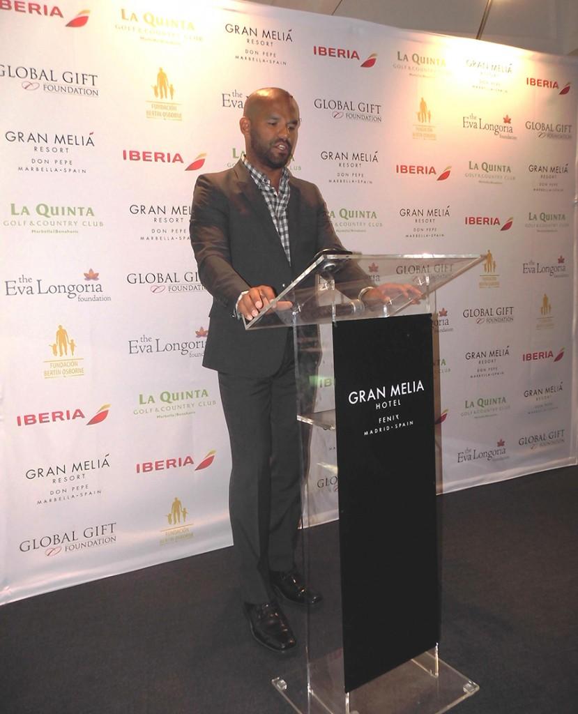 Amaury Nolasco, Global Gifter y actor, reconocido por Prison Break-2