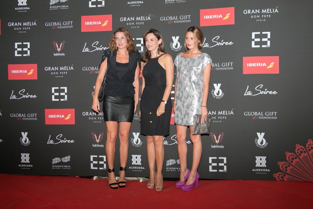 Alejandra Osborne, Fabiola Martinez y Claudia low