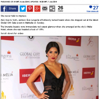 Daily Mail The Global Gift Gala Marbella 2015