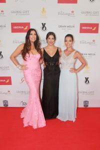 María Bravo, Eva Longoria, Alina Peralta en The Global Gift Gala Marbella 2015