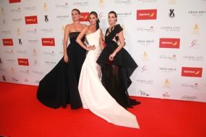 Alejandra, Claudia y Eugenia, hijas de Bertin Osborne