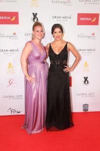 Rocío Galán (Gran Meliá Don Pepe) & Eva Longoria