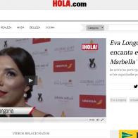 Video Hola.com Eva Longoria   Me encanta estar en Marbella