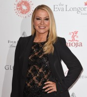 La cantante Anastasia en la Gala Global Gift Londres