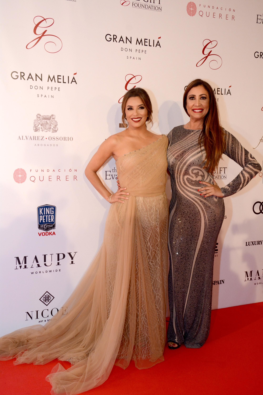 María Bravo y Eva Longoria Bastón - Global Gift Gala Marbella 2017