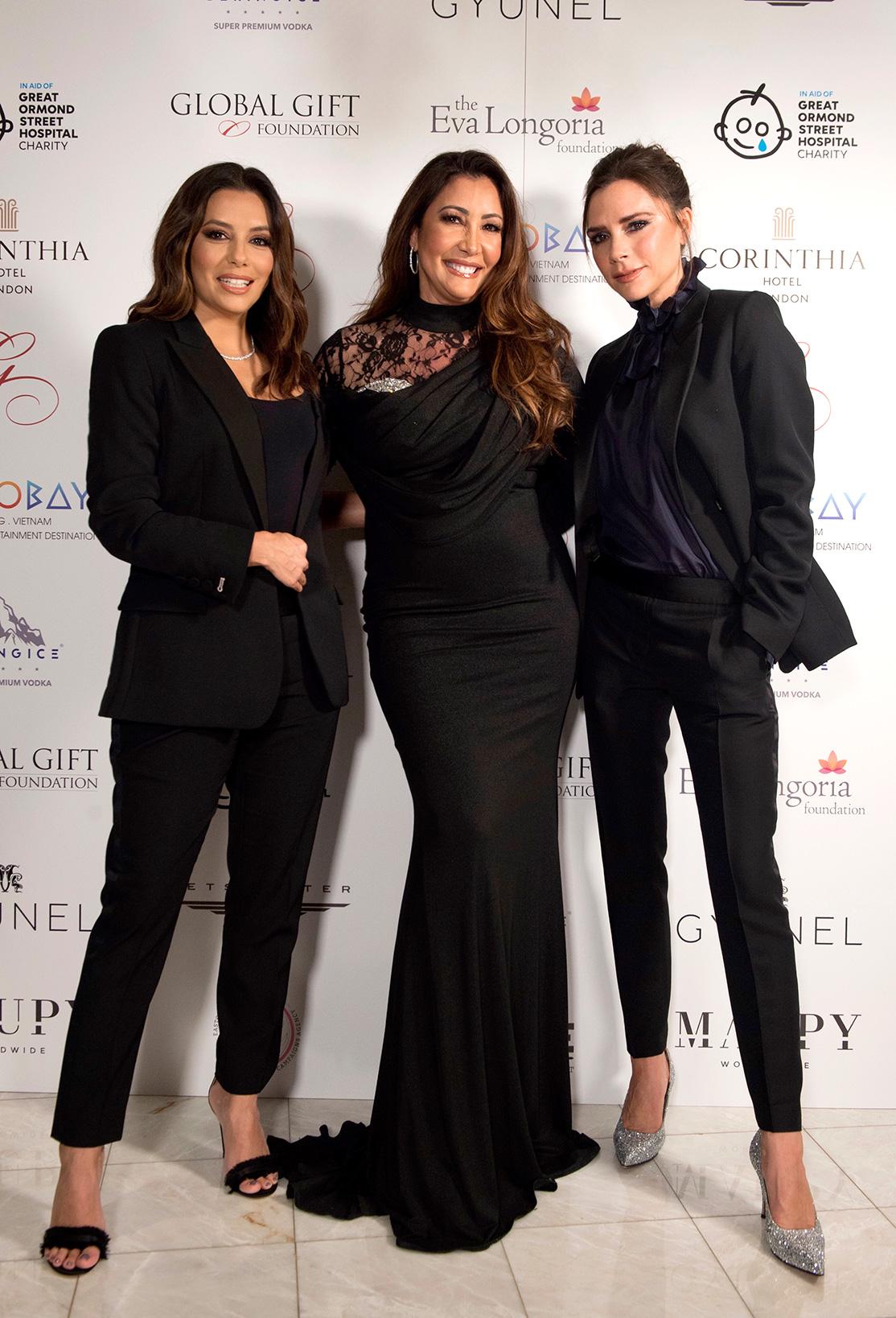 Global Gift Gala London 2017 - Eva Longoria, Maria Bravo, Victoria Beckham